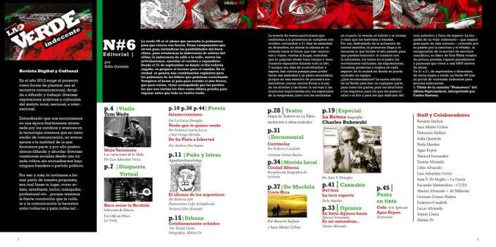 sumario web La Verde #6